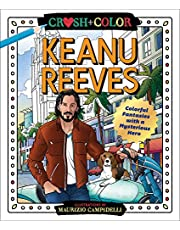 Crush and Color: Keanu Reeves: Colorful Fantasies with a Mysterious Hero