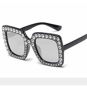 Gafas de sol Square Big Box Color Gafas de sol Girls Fashion ...