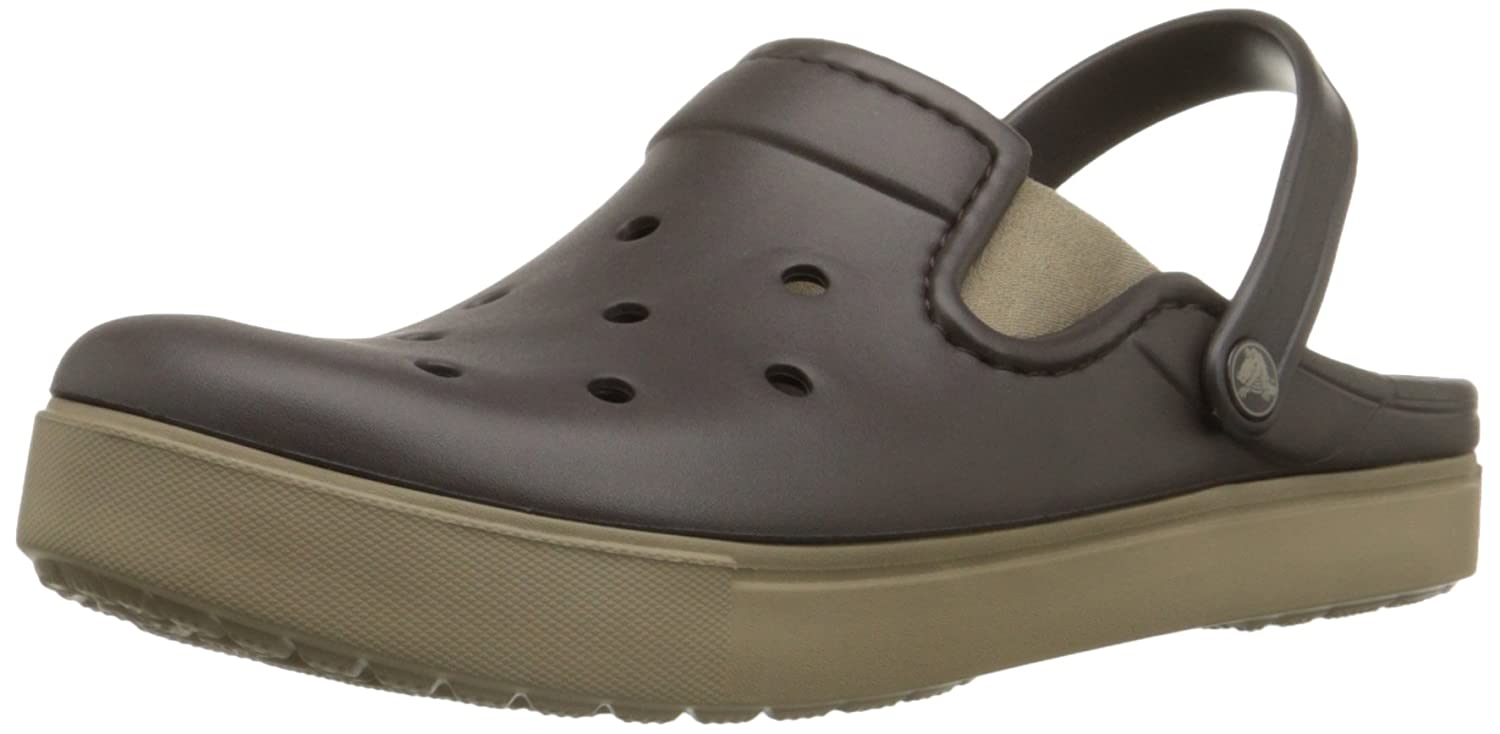 cb1fbf0fb9b74 crocs Unisex Citilane Espresso and Khaki Clogs and Mules - M4W6  Buy Online  at Low Prices in India - Amazon.in