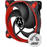 Arctic BioniX P140 (Red) - Pressure-optimised 140 mm Gaming Fan PWM Sharing Technology (PST)