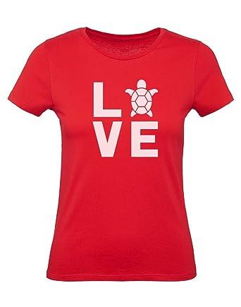 Camiseta para Mujer - - Love Turtles - Regalo Original de ...