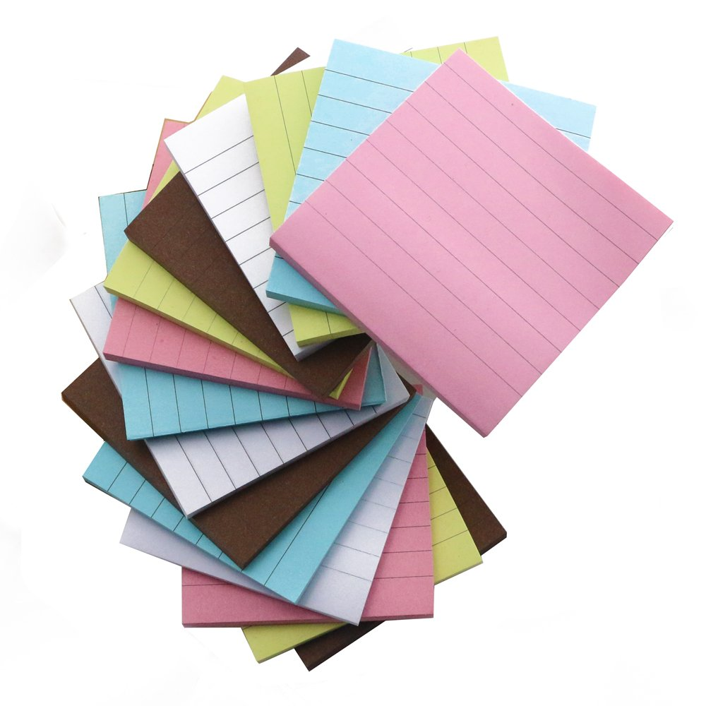 15pack fyess 3x3 inch self stick sticky notes 70 sheetspiece 15pack fyess 3x3 inch self stick sticky notes 70 sheetspiece memo jeuxipadfo Images