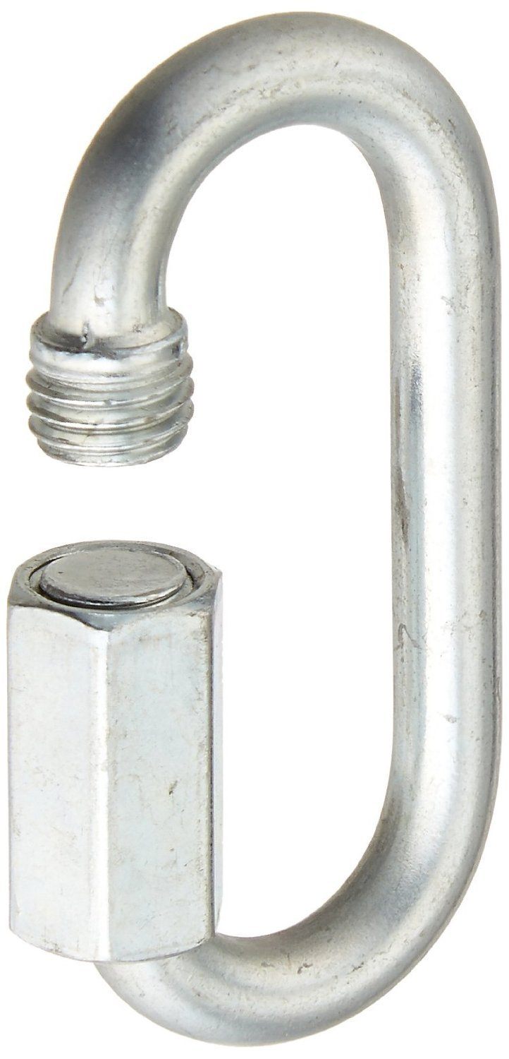 National Hardware N223-016 60 Pack 3150bc 3//16in Zinc Plated Quick Link
