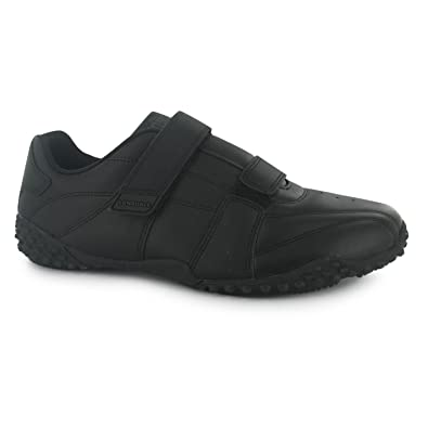 Lonsdale Kids Childrens Juniors Fulham Trainers Sports Padded Ankle  LeatherAmazonukShoes  Bags