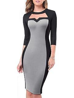 57ee88e1595f ESAILQ Damen Kleider Frau Mode Spitze Elegante Mutter Der Braut ...