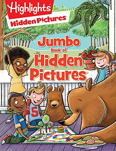 - Jumbo Book of Hidden Pictures® (HighlightsTM Jumbo Books & Pads)