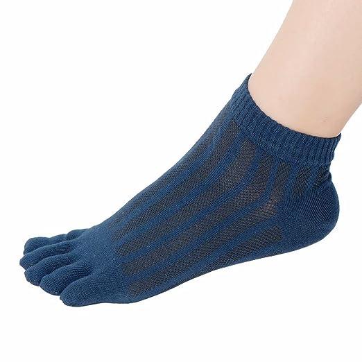 d12df52d2b77f BEALTUY Men's Toe Socks Lightweight No-Show Five Fingers Running(4 Pack)