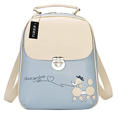 Amazon.com | Tibes Waterproof Backpack Cute School Backpack for ...
