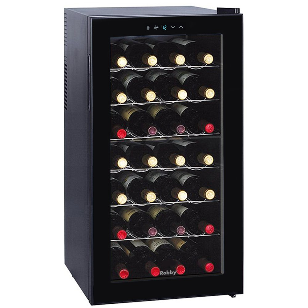 Cave à vin de service 28 bouteilles - WINE CELLAR - CELLAR 28 - ROBBY [Classe énergétique B]