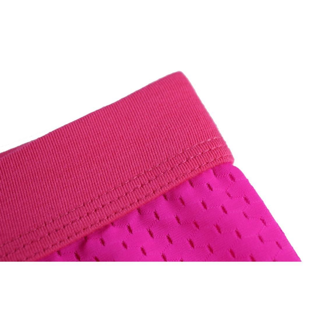 NEARTIME Men's Underwear, Mens Low Waist Boxers Briefs Men Underpants Soft Shorts (M, Hot Pink) … by NEARTIME (Image #9)