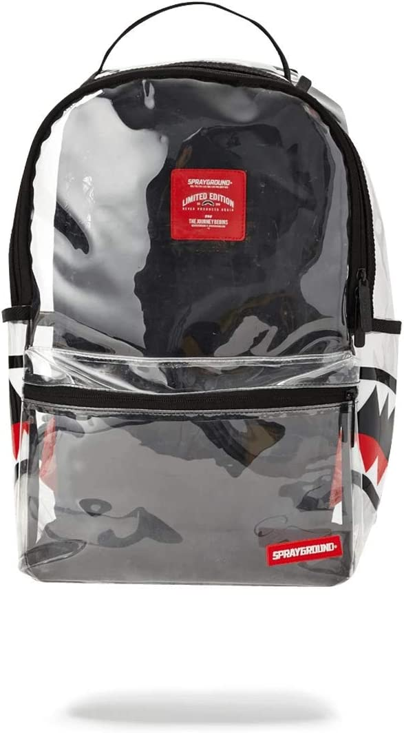 SPRAYGROUND BACKPACK 20 20 VISION DOUBLE CARGO SIDE SHARK