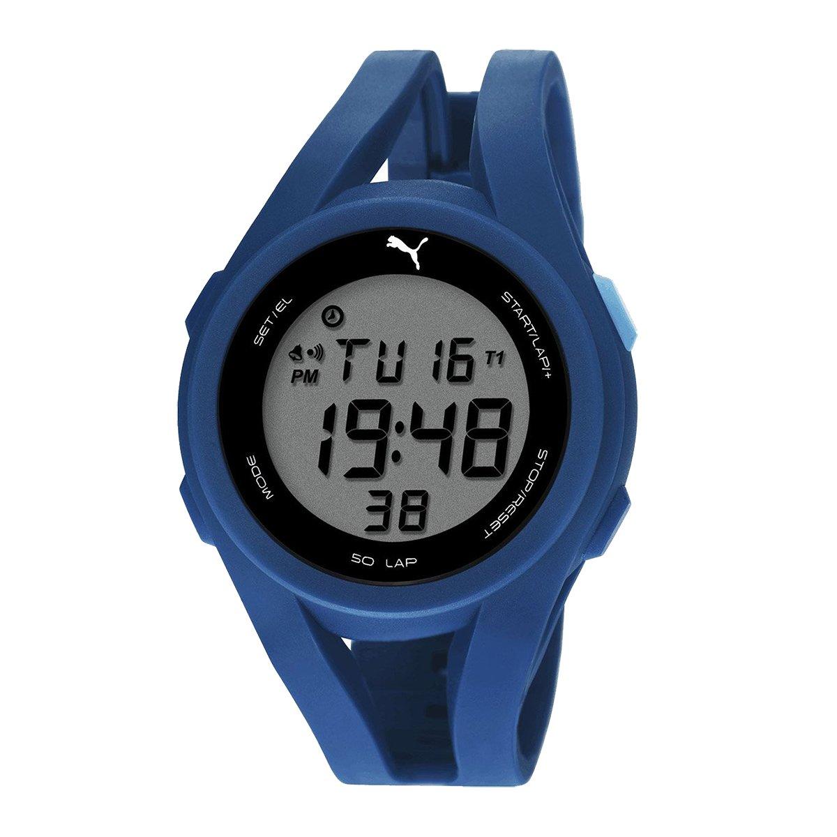 PUMA Unisex PU911131003 Airy Digital Display Quartz Watch by PUMA