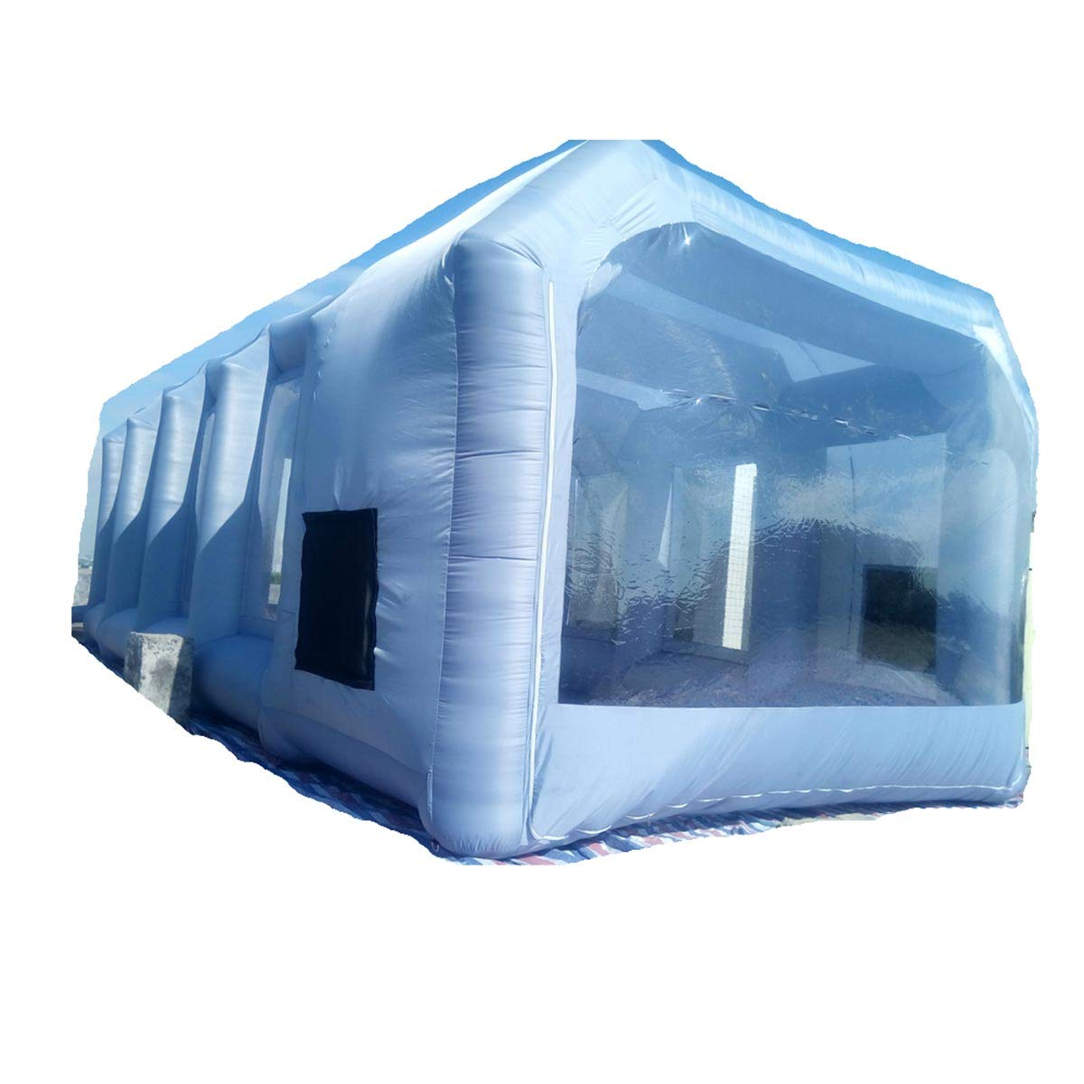 Inflatable Spray Booth Custom Tent Car Paint Booth Inflatable Car (26x13x10Ft) by LIVIQILY (Image #1)