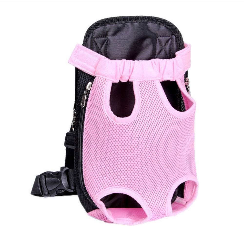 2 M 2 M Huayue Pet Bag Breathable Travel Pet Shoulder Chest Bag Pet Out Shoulder Bag Dog Backpack Portable pet Backpack (color   2, Size   M)