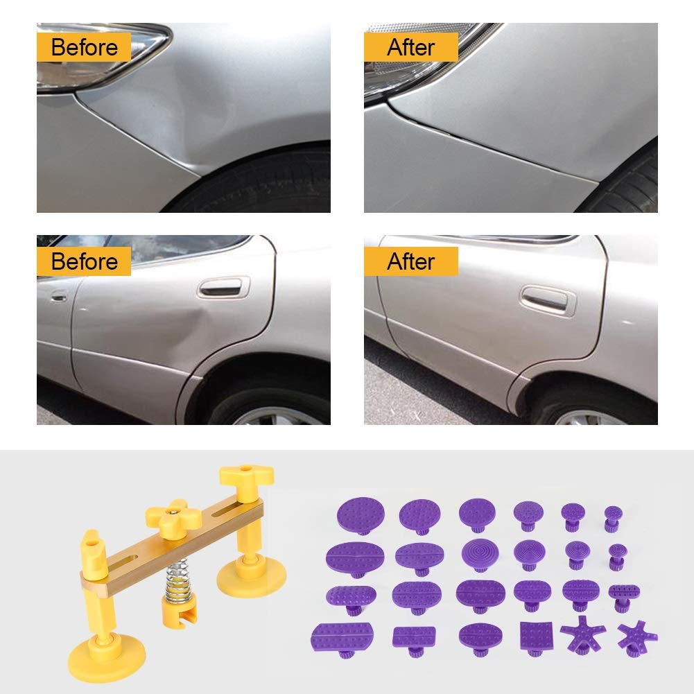 PDR Kit - Delaman DIY Paintless Dent Removal Tool Kit, for Automobile, Motorcycle, Refrigerator, Washing Machine by Delaman