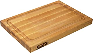 product image for John Boos Block BBQBD Reversible Maple Wood Edge Grain BBQ Cutting Board with Juice Groove, 18 Inches x 12 Inches x 1.5 Inches