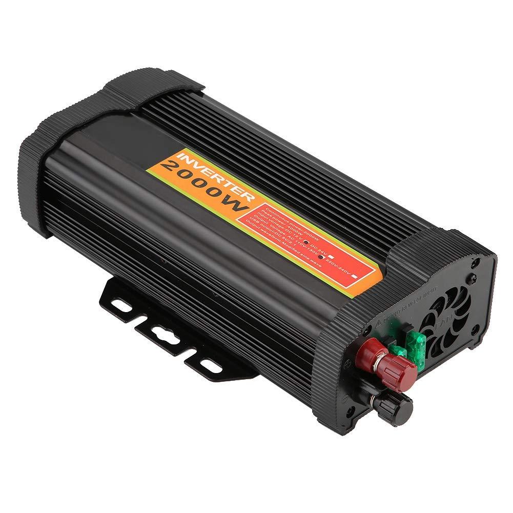 Car Power Inverter 2000W Power Inverter 12V DC to 110V AC 2000W Car Auto Voltage Transformer Inverter Converter Car Charge