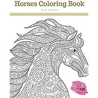 HORSES: A Horses Coloring Book