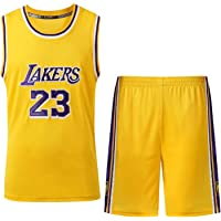 Th-some NBA Maillots de Baloncesto - Camisetas de Baloncesto NBA Bulls Jordan NO.23,Lakers James NO.23,Warriors Curry NO.30,Chaleco y Pantalones Cortos de Verano