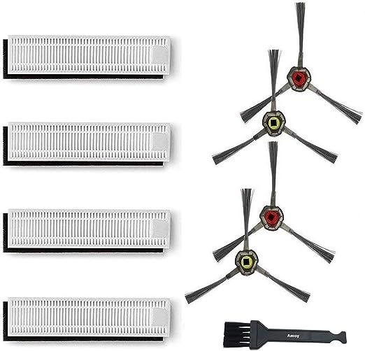 iAmoy Repuestos de Repuesto Compatible con Ecovacs Deebot Slim Slim2 DA60-KTA Robot Aspirador: Amazon.es: Hogar