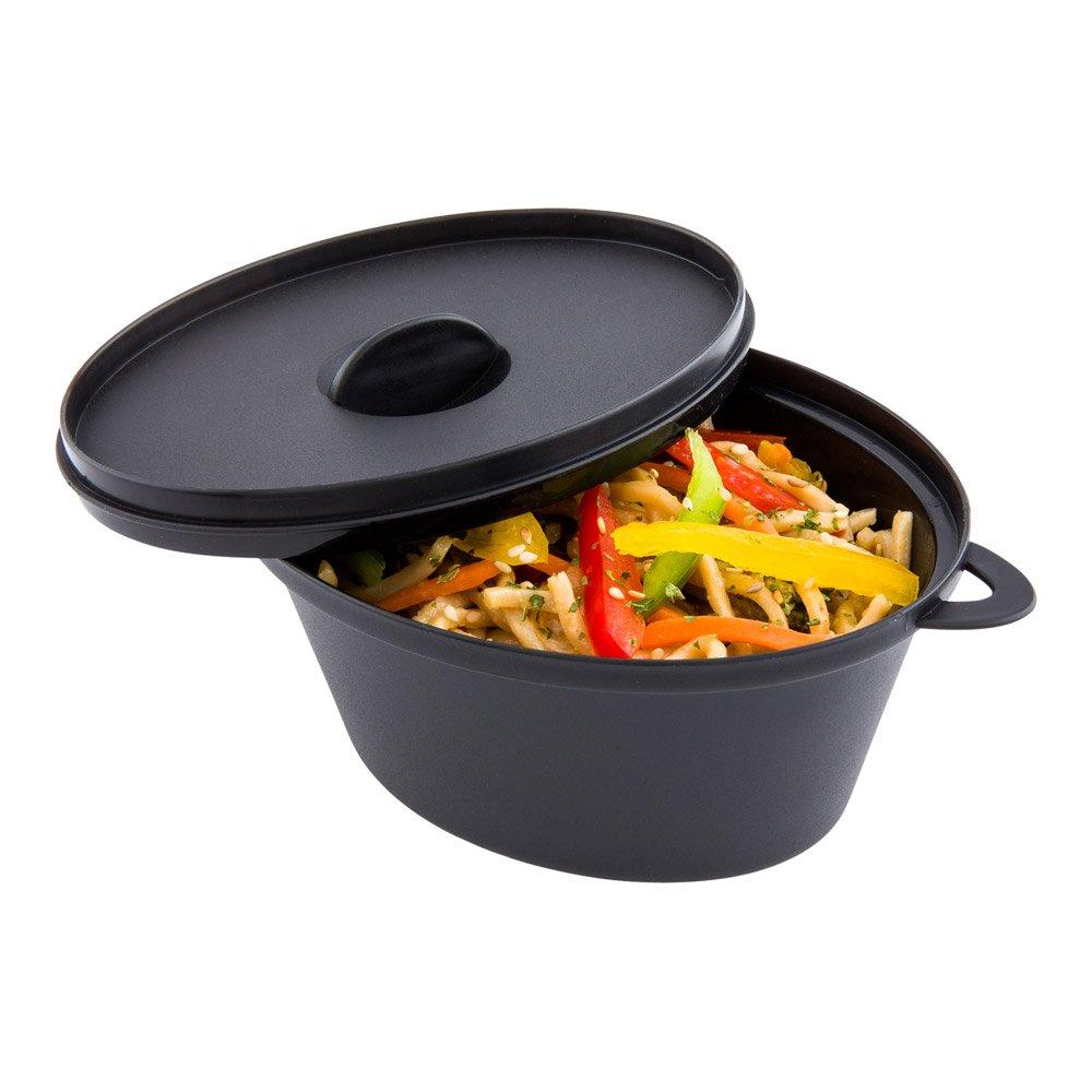 Black Restaurantware Mini Kettle Dish 100 count box