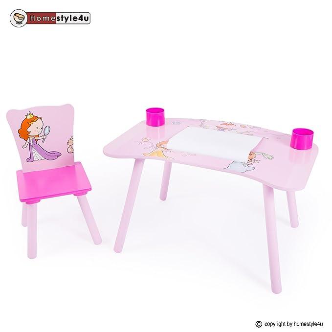 Mesa de escritorio mesa de escritorio 1 1 silla niños tablero de ...