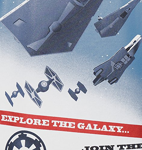 GOZOO Star Wars Classic T-Shirt Herren Join The Imperial Navy Blau