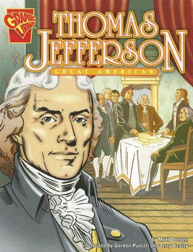 Thomas Jefferson: Great American (Graphic Biographies) pdf