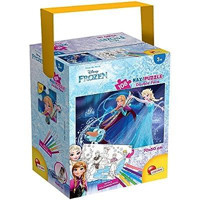 Lisciani Giochi Frozen Puzzle In A Tub Maxi 108 Disney 652710
