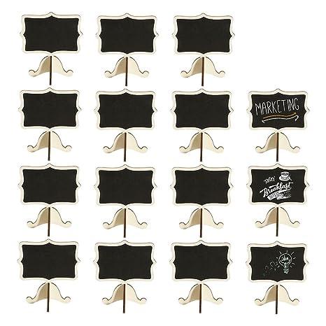 Amazon.com: HDT - Carteles de pizarra (15 unidades, tamaño ...