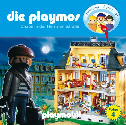 Price comparison product image Chaos in der Hermanstrasse - CD4 (Playmobil)