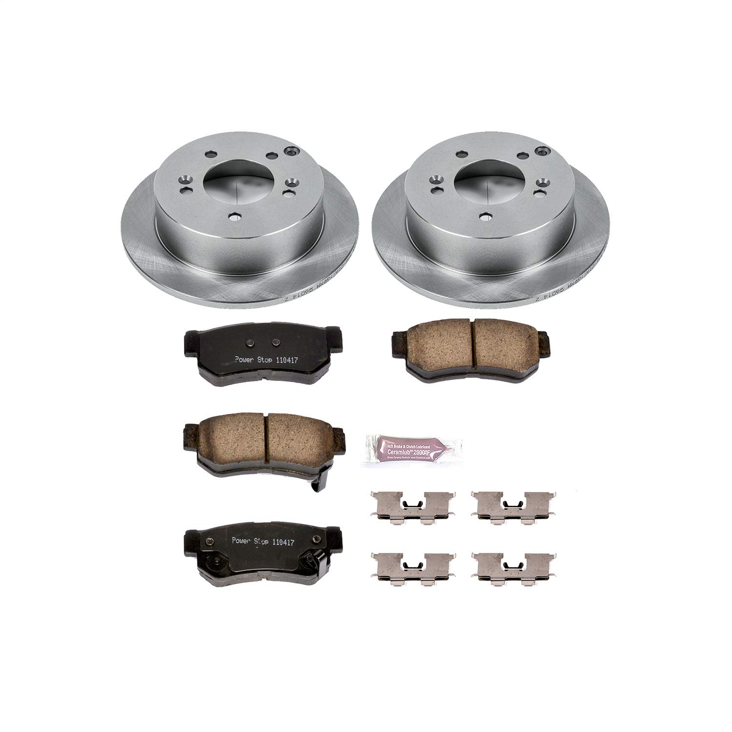 Autospecialty (KOE5214) 1-Click OE Replacement Brake Kit by POWERSTOP