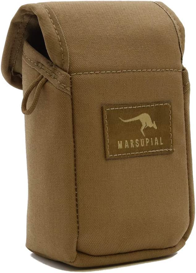 Marsupial Gear Rangefinder Pouch-Coyote Brown