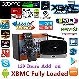 Genda 2Archer TVB-RK3188-A1000 Streaming Media Player, Black