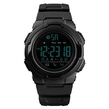 Cebbay Reloj Inteligente Impermeable IP67 Color Monitor de Frecuencia Presión Arterial Cámara Remota para Android e iOS: Amazon.es: Electrónica
