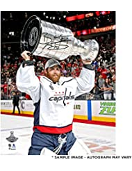 """Braden Holtby Washington Capitals 2018 Stanley Cup Champions Autographed 8"""" x 10"""" Raising Cup Photograph - Fanatics Authentic Certified"""