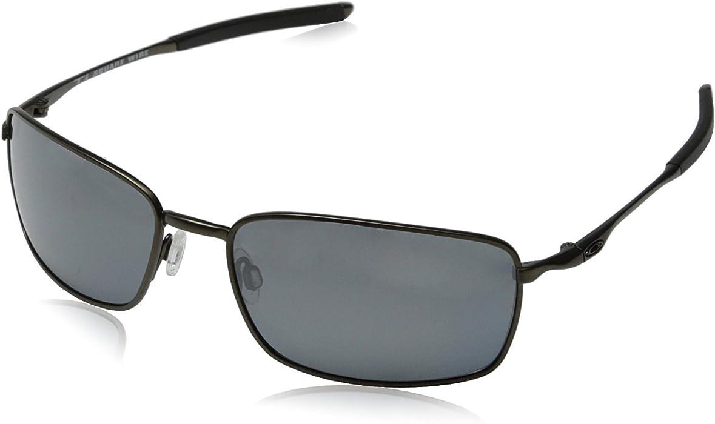651dc51794 Amazon.com  Oakley Men s Ti Square Wire Polarized Iridium Sunglasses ...