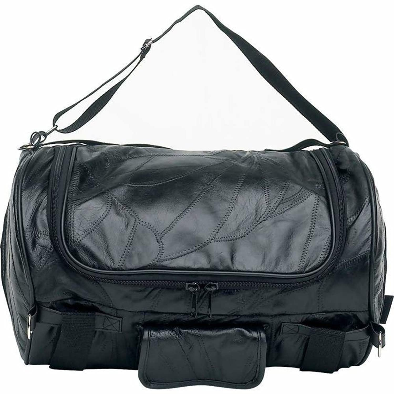 Amazon.com: Diamond Plate Rock Design Genuine Buffalo Leather ...