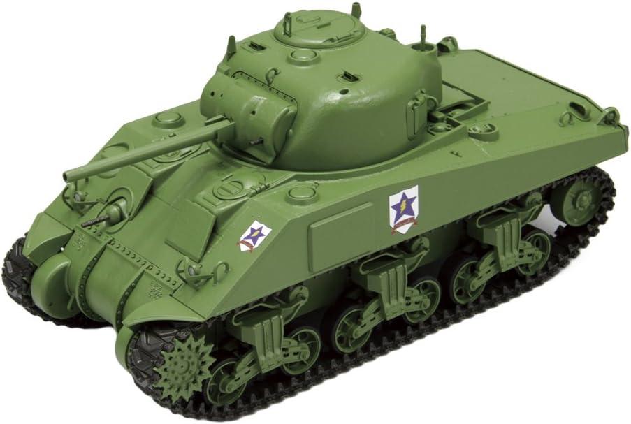 1/35 Girls und Panzer Sanders university-affiliated high school M4 Sherman 75mm gun-mounted 618WctoR7cLSL1024_