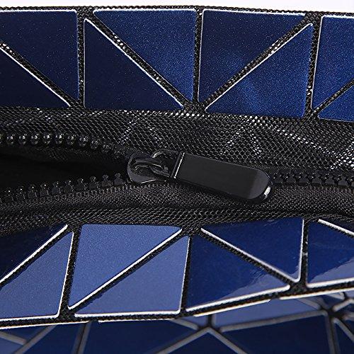 28 Bandolera Lingge de cm WDBB Azul Bandolera Casual Bolso cm Multifuncional Moda 17 × rosa Bolso A7nwdEqw