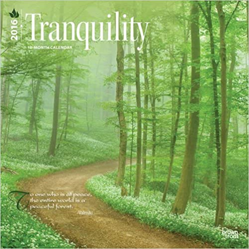 Tranquility 2016 Wall by BrownTrout Publishers (2015-09-01)
