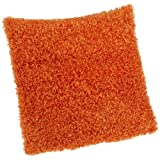 Brentwood Fifi Knife Edge Pillow, 18-Inch, Orange