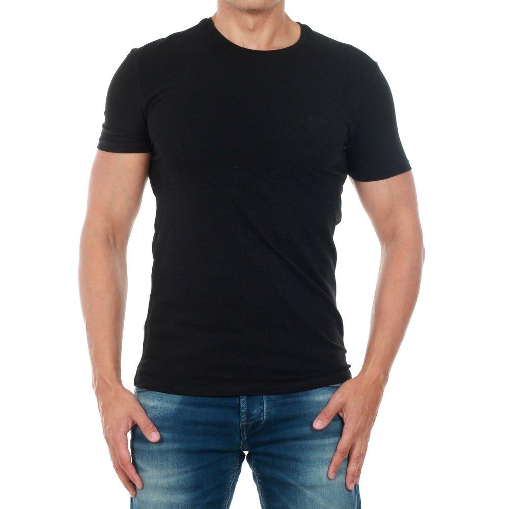 Camiseta Guess Hombre Negro M73I56J1300-A996: Amazon.es: Ropa y accesorios
