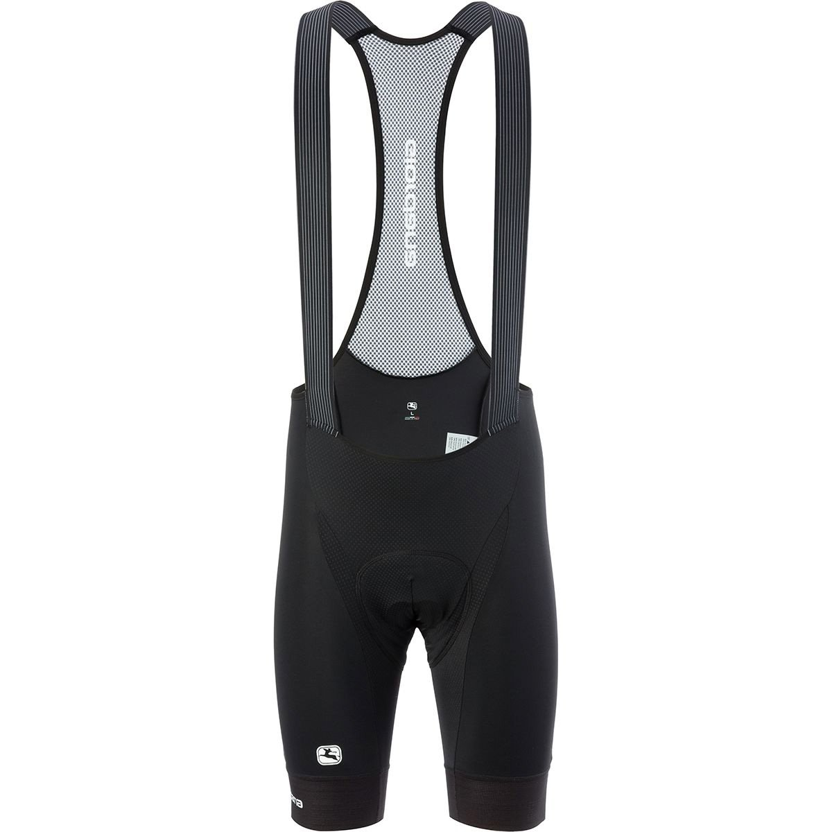 Giordana Moda Scatto Pro Bib Short – Men 's Medium ブラック/ホワイト B078X3GFGK