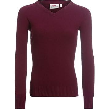 FJÄLLRÄVEN Sörmland V-Neck Sweater Women - Pullover  Amazon.de ... 658f6151f5