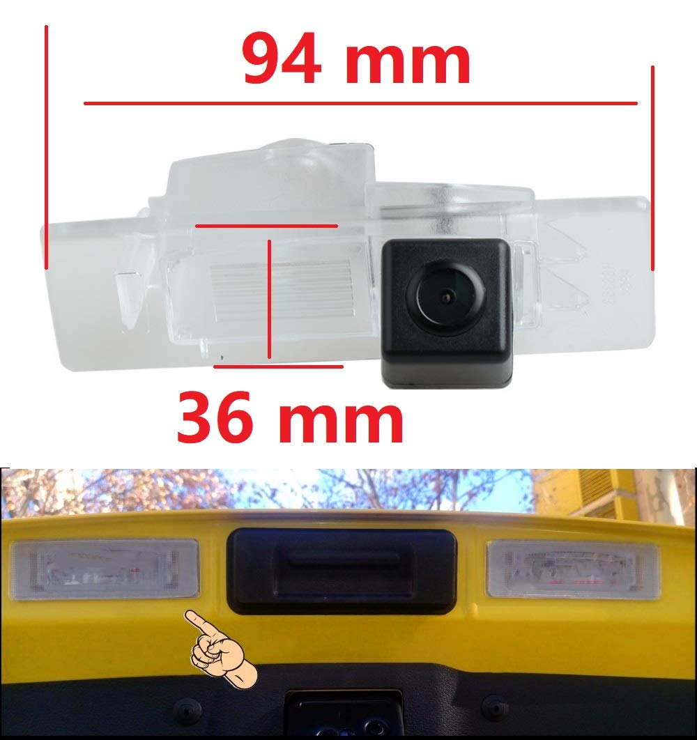 HD 720p Backup Camera Waterproof Rear-View License Plate Rear Reverse Parking Camera for KIA Sorento L 2015 2016 2017