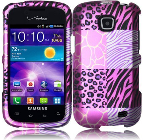 For Samsung©Galaxy Proclaim S720C Illusion i110 Hard Design Cover Case Pink Exotic Skins Accessory