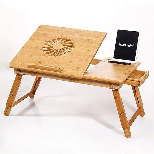 MQQ Mesa plegable elevable escritorio del ordenador portátil del ...