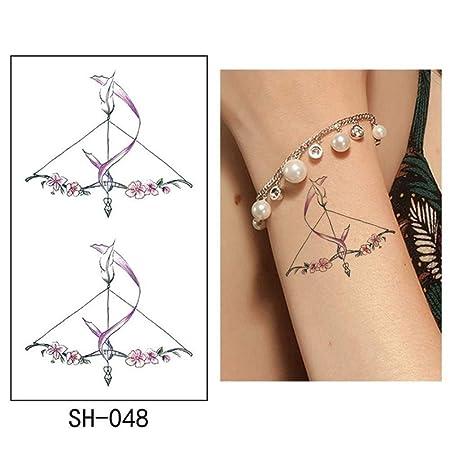adgkitb Etiqueta engomada Temporal del Tatuaje 5pcs Bird Tatto ...