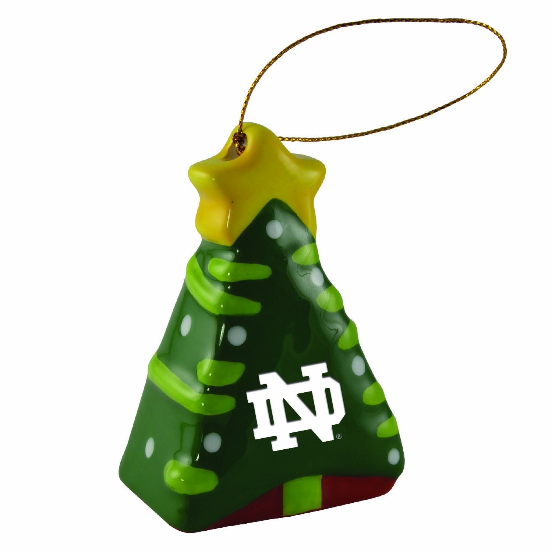 Amazon.com: University of Notre Dame-Christmas Tree Ornament: Home ...